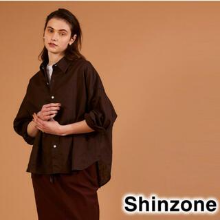シンゾーン(Shinzone)のTHE Shinzone シンゾーン WINDY SHIRT ウィンディシャツ(シャツ/ブラウス(長袖/七分))