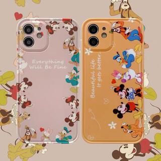 iPhone ディズニー キャラクター カバー ケース ミッキー  ミニー