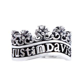 ジャスティンデイビス(Justin Davis)のジャスティンディビス ヴィクトリア リング 指輪 ロゴ(リング(指輪))