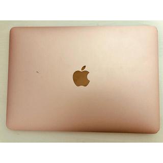 Apple - MacBook 12インチ ローズゴールド 2016