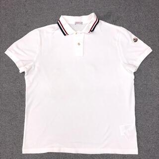 モンクレール(MONCLER)の美品 モンクレール ポロシャツ  サイズL(ポロシャツ)