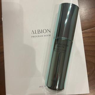 ALBION - アルビオン アンフィネス ホワイトサージ ソリューションCL