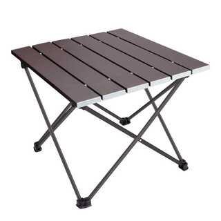 ロールテーブル アルミ製 耐荷重30kg(アウトドアテーブル)