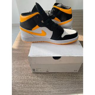 Jordan 1 Mid Laser Orange Black (スニーカー)