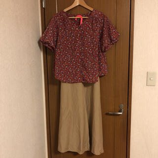 one after another NICE CLAUP - ナイスクラップ 花柄シャツ フリーサイズ