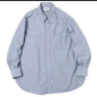 COMOLI - Marvine Pontiak Shirt Makers ストライプシャツ
