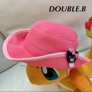 ダブルビー(DOUBLE.B)のDOUBLE.B  テンガロンハット メッシュ 50cm(帽子)