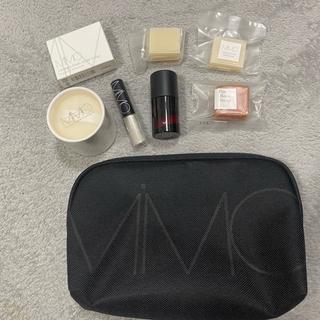 MiMC - 新品未使用 MIMC モイスチュアシルク おまけアイシャドウ モイストソープ