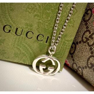 Gucci - GUCCI/グッチ インターロッキングG ネックレス/ペンダント(あずきチェーン