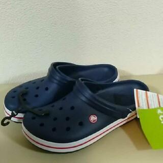 crocs - 23クロックス★ネイビー