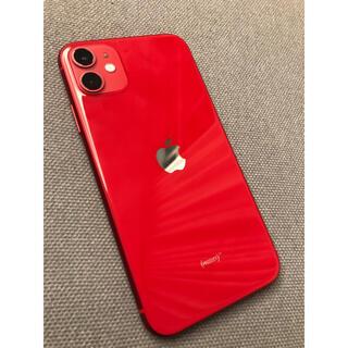 iPhone - iPhone11 超美品 レッド 64GB ジャンク品