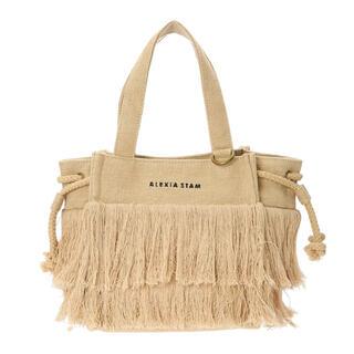 ALEXIA STAM - Square Fringe Small Tote Bag