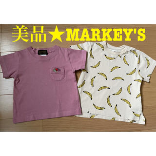 MARKEY'S - 美品 MARKEY'S マーキーズ★半袖Tシャツ 90 セット