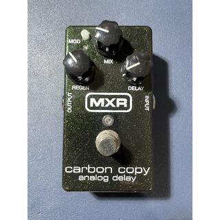 MXR carbon copy analog delay(エフェクター)