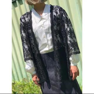 Grimoire - Uka ♡刺繍 羽織り 薔薇柄 古着 ヴィンテージ レトロ古着ヴィンテージ