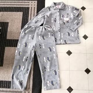 シマムラ(しまむら)の中古 リサとガスパール レディース 長袖 パジャマ 上下セット グレー Mサイズ(パジャマ)