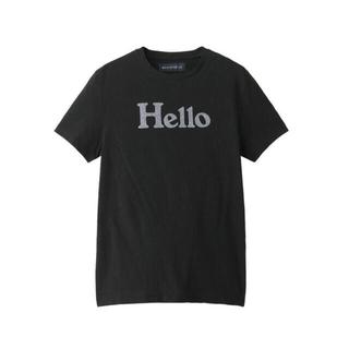MADISONBLUE - MADISONBLUE マディソンブルー HELLOクルーネックTシャツ 黒00