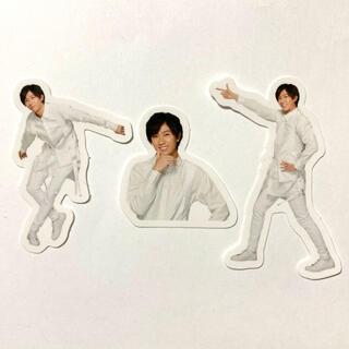 Johnny's - Snow Man ポートレートシリーズ フレークシール 阿部亮平 3枚セット