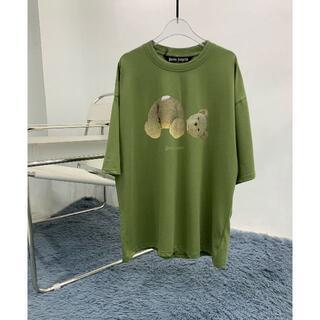 パーム(PALM)のpalm angels tシャツ パームエンジェルス XL(Tシャツ/カットソー(半袖/袖なし))