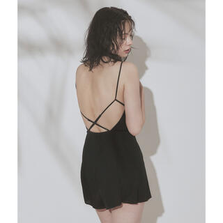 dholic - SEA DRESS カップ付オールインワン 水着