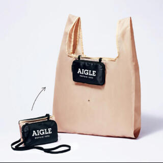 AIGLE - GLOW (グロー)付録◆エーグル ポシェット2way変身エコバッグ