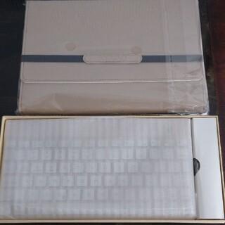 ipad 9.7インチ ケース・キーボード ゴールド(iPadケース)