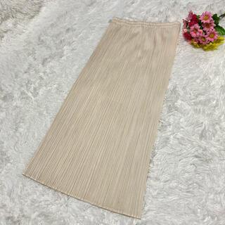 PLEATS PLEASE ISSEY MIYAKE - 【美品】PLEATS PLEASE イッセイミヤケ ミモレ丈 スカート サイズ1