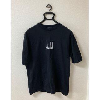 ダンヒル(Dunhill)のほぼ未使用 Dunhill ダンヒル レガシー Tシャツ 半袖 ロゴ刺繍(Tシャツ/カットソー(半袖/袖なし))