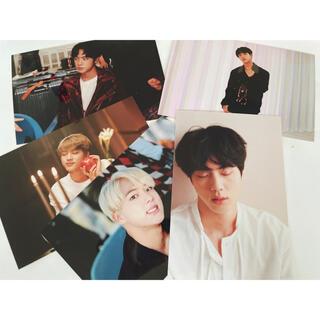 BTS オヌル展示会 生写真 フォト ジン  ソクジン(K-POP/アジア)