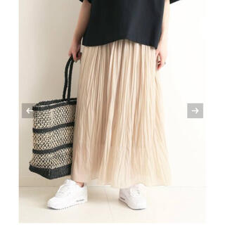 IENA SLOBE - SLOBE IENA トリコットプリーツスカート