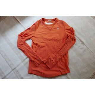アバクロンビーアンドフィッチ(Abercrombie&Fitch)のAbercrombie&Fitch アバクロ 長袖シャツ Mサイズ 厚手(Tシャツ/カットソー(七分/長袖))