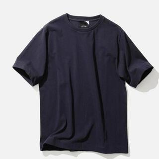 DEUXIEME CLASSE - ATON   Tシャツ 新品タグ付き ネイビー