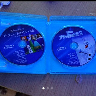 ディズニー(Disney)のディズニー アナと雪の女王 ブルーレイ 2枚(アニメ)