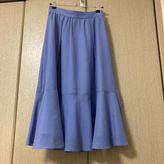 PROPORTION BODY DRESSING - PROPORTION BODY DRESSING シアーカラーティアードスカート