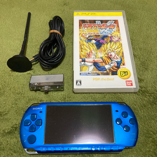 プレイステーションポータブル(PlayStation Portable)の【良品】PSP 3000 本体 VB 4GB バッテリーあり ドラゴンボール(携帯用ゲーム機本体)