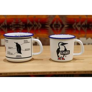 CHUMS - 【CHUMS】ホーローマグ ミスターブービー&アイムノットアペンギン