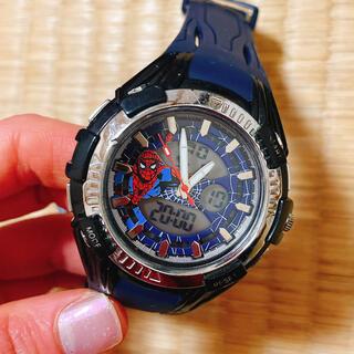 マーベル(MARVEL)のスパイダーマン USJ 腕時計 時計  ユニバ (キャラクターグッズ)