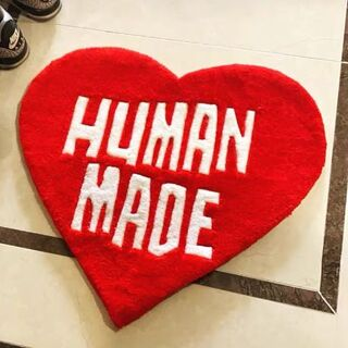 HUMAN MADE heart ラグマット
