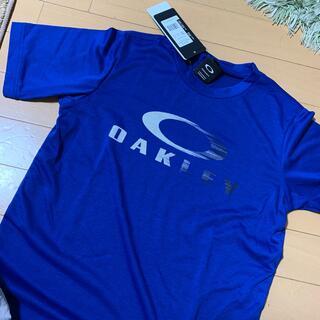 オークリー(Oakley)の新品オークリー 半袖Tシャツ 150 青色(Tシャツ/カットソー)