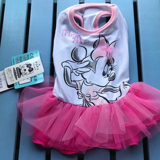 ディズニー(Disney)の犬服  新品  ミニーちゃんチュチュドレス  サイズL(犬)