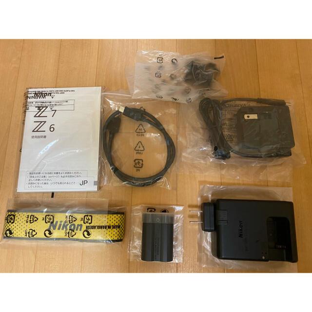 Nikon(ニコン)の【最終価格】Nikon Z7ボディ(プレミアムストラップ付) スマホ/家電/カメラのカメラ(ミラーレス一眼)の商品写真