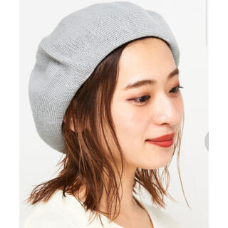 Ciaopanic - チャオパニック K.ベレー帽透かし編み グレー 新品タグ付き