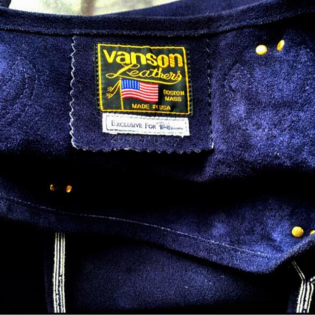Ron Herman(ロンハーマン)のRon Herman × Vanson別注限定🇺🇸USA製レザートートバック メンズのバッグ(トートバッグ)の商品写真