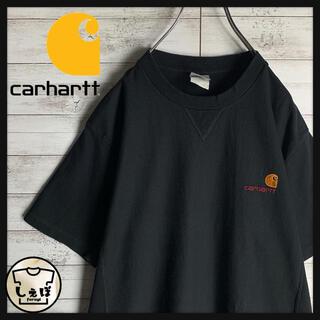 carhartt - 【人気Lサイズ】カーハート☆ワンポイント刺繍ロゴ定番カラーtシャツ 入手困難美品