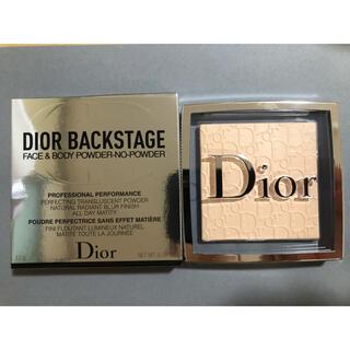 Dior - 新製品 ディオール バックステージフェイス&ボディパウダー