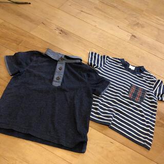 オールドネイビー(Old Navy)の90センチ 半袖 2枚(Tシャツ/カットソー)