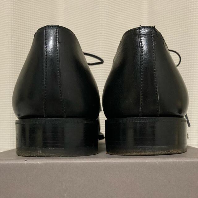 J.M. WESTON(ジェーエムウエストン)のJ.M.WESTON ストレートチップ 8.0D 黒  メンズの靴/シューズ(ドレス/ビジネス)の商品写真