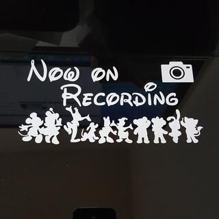 ミッキー ダッフィー フレンズ 仲間 家族 ドライブレコーダー ステッカー 録画