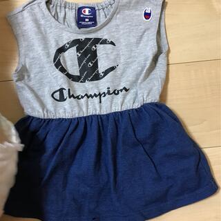 Champion - 【champion】ベビー服 ロンパース 80cm 女の子 夏おすすめ