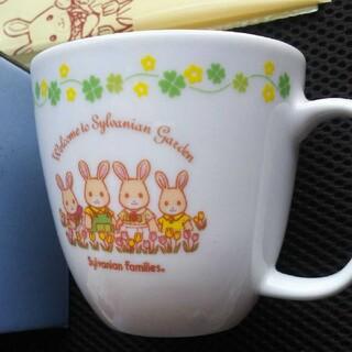 エポック(EPOCH)のシルバニアファミリー(かしいかえん限定)はなぞのウサギマグカップ(キャラクターグッズ)